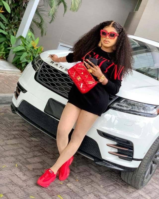 """""""Be careful who you roll with""""- Bobrisky reacts as Hushpuppi loses 100K followers on Instagram"""