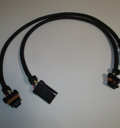 two 24 gm ls1 oxygen o2 sensor extension harnesses 4 wire flat connector [ 2048 x 1536 Pixel ]