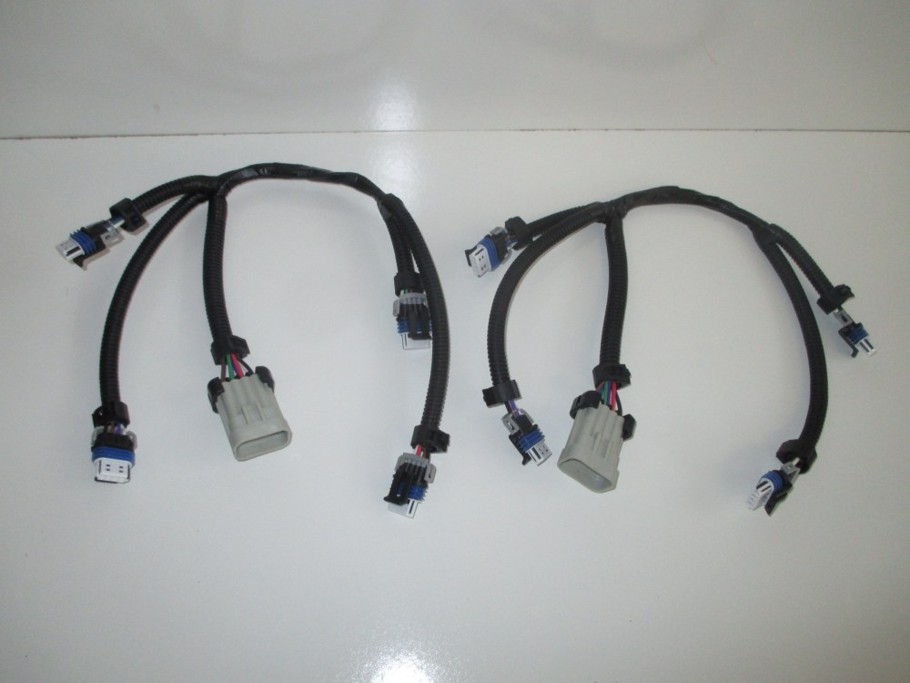 medium resolution of set of 2 gm ignition coil harnesses lq9