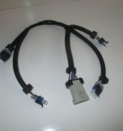 set of 2 gm ignition coil harnesses lq9 lq4 ls2 ls7 lsx d585 d581 [ 2048 x 1536 Pixel ]
