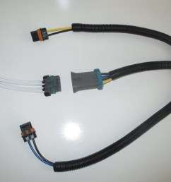 gm dual cooling fan harness and pigtail for f body style fans and rh warrperformance com gm electric fan wiring diagram gm wiring harness [ 2048 x 1536 Pixel ]