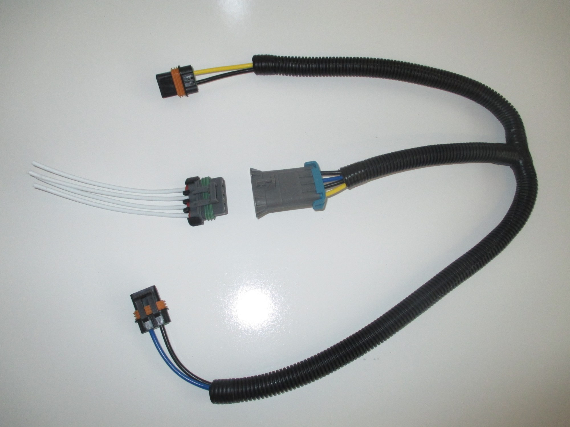 hight resolution of gm dual cooling fan harness and pigtail for f body style fans and similar ls1