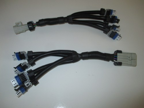 small resolution of ls2 ls7 lq4 lq9 ignition coil harness set for relocation brackets for 8 coil packs