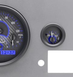 dakota digital gauges for jeep cj 1955 86 vhx 55j [ 1280 x 671 Pixel ]