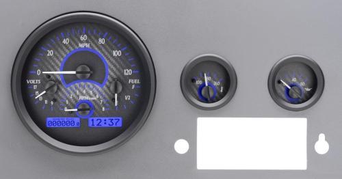 small resolution of dakota digital gauges for jeep cj 1955 86 vhx 55j