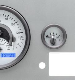 dakota digital gauges for jeep cj 1955 86 vhx 55j [ 1280 x 664 Pixel ]