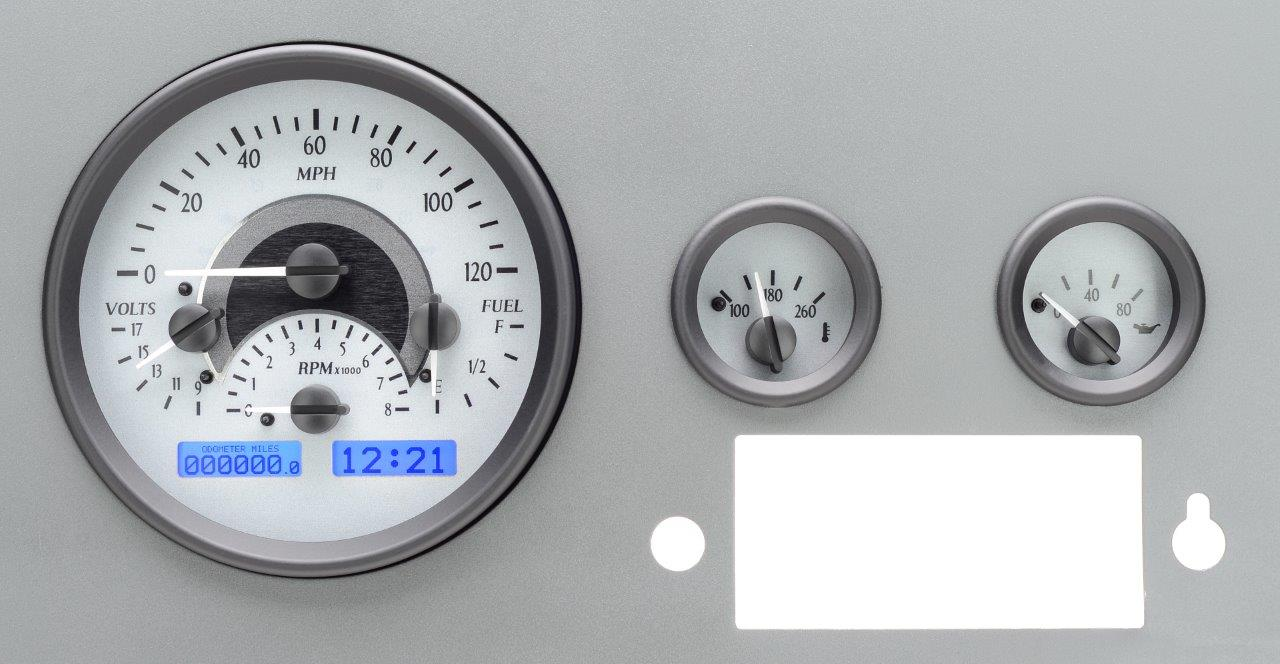 hight resolution of dakota digital gauges for jeep cj 1955 86 vhx 55j