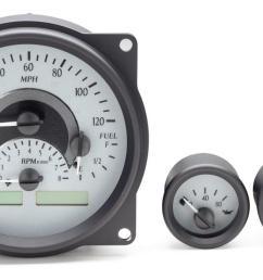 dakota digital gauges for jeep cj  [ 1280 x 699 Pixel ]