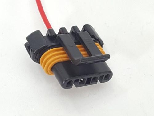 small resolution of ls 4 pin style alternator pigtail 22 u2033 single wire warr ls 4 pin alternator wiring