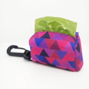 Kupownik, torebka na woreczki do sprzątania po psie, kolekcja Shine in Purple