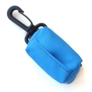Kupownik, torebka na woreczki do sprzątania po psie, Niebieski