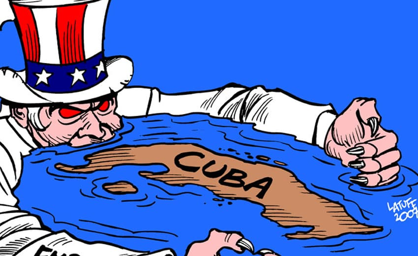 KUBA vs USA: DOŽDÍMANIE ŽOBRÁKA