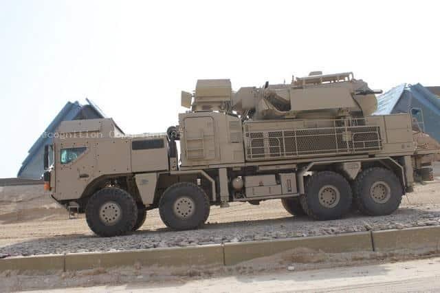 Spojené arabské emiráty dodali Haftarovi PANTSIR-S1.