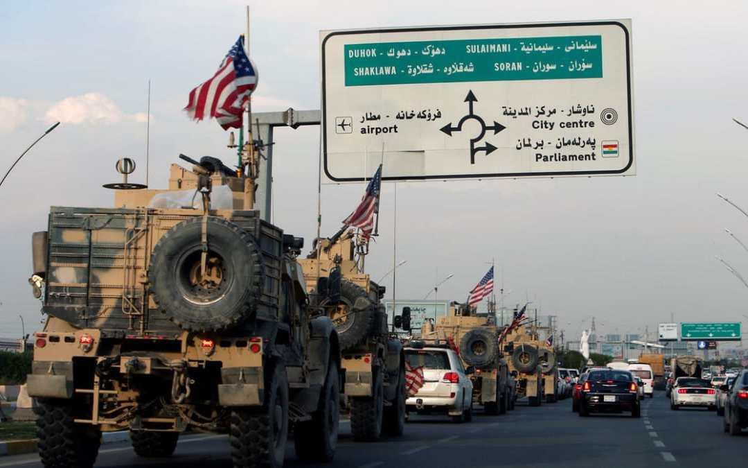 Irak sa obracia na OSN, aby vykopol neautorizované americké jednotky, ktoré prišli zo Sýrie.
