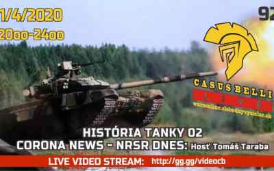 Casus Belli 92-Tanky 02-Corona novinky-NR SR chaos