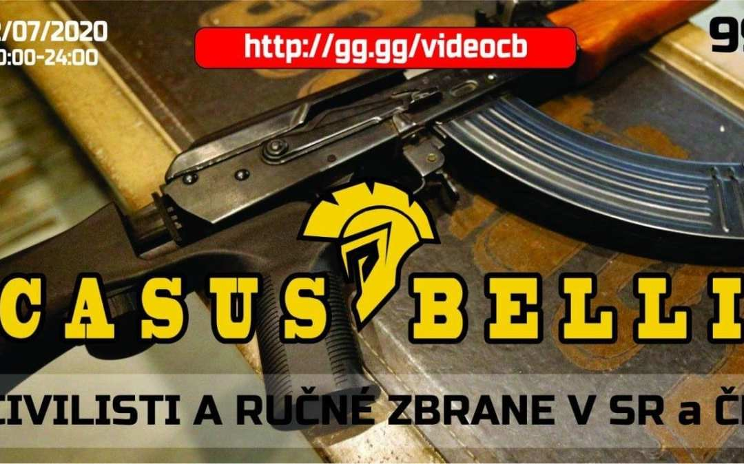 Casus Belli 99 – Drzanie rucnych zbrani v CR a SR, Co sa deje vo svete.