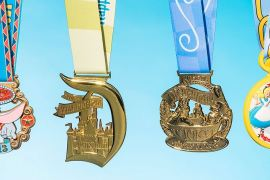 najładniejsze medale biegowe