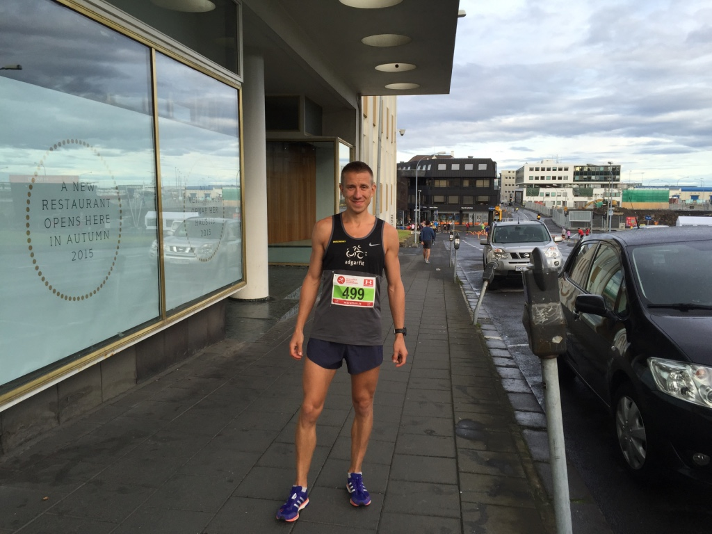 Ostatnie zdjęcie przed samym startem, później już skupienie i koncentracja na biegu.