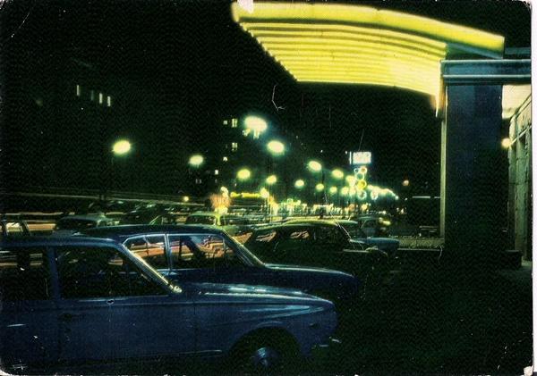 Ulica Krucza, wg fotografii barwnej P. Krassowskiego