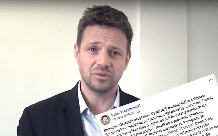 Rafał Trzaskowski unika rozmowy