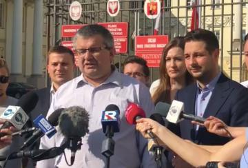 Kolejny radny PO poparł kandydaturę Patryka Jakiego