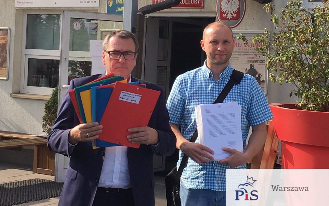 Lista kandydatów PiS do Rady Dzielnicy Wawer!