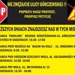 Nie zwężajcie nam Górczewskiej!