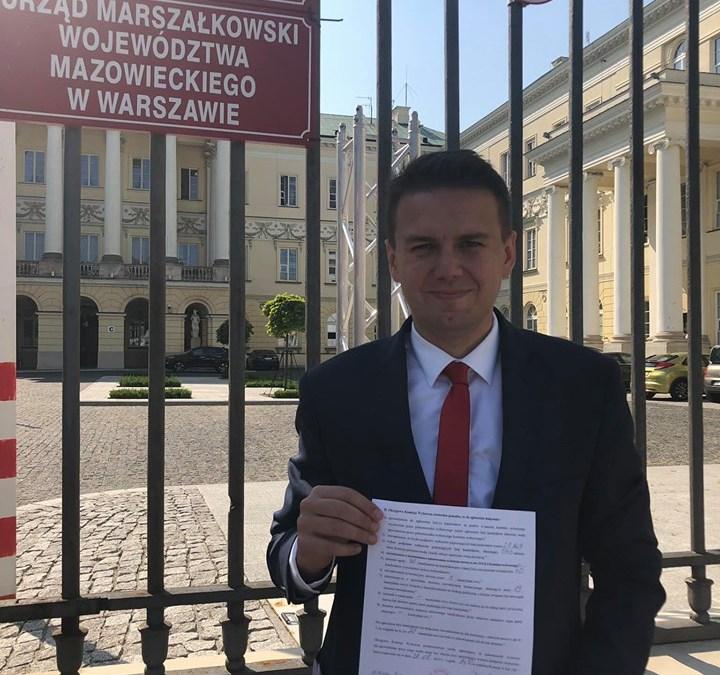 Warszawska lista PiS do Sejmu zarejestrowana!