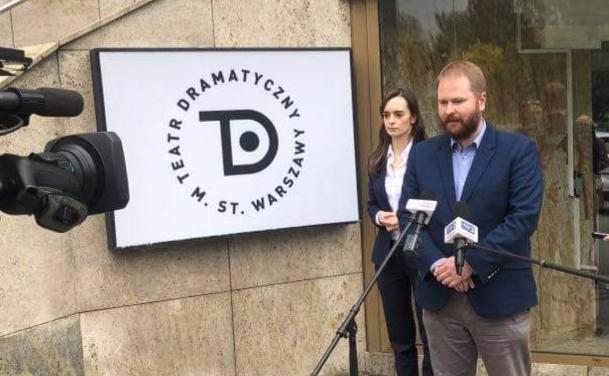 Prezydent Trzaskowski likwiduje Scenę na Woli. Radni PiS walczą o teatr