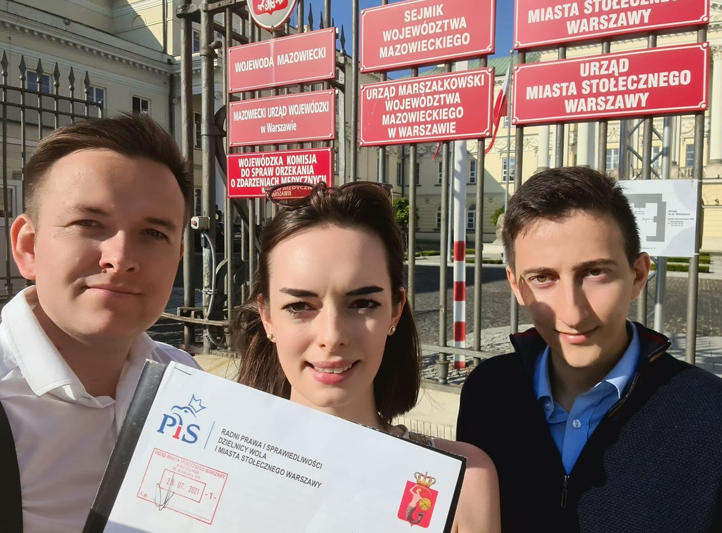 Radni PiS na Woli złożyli petycję do Prezydenta m.st. Warszawy Rafała Trzaskowskiego