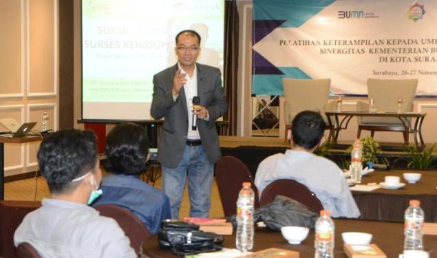 Tingkatkan Ketrampilan, RKB Surabaya Bank Mandiri Adakan Pelatihan Ketrampilan UMKM