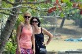 turis yang ikut meramaikan festival karimata 2015 menyambut sail karimata 2016