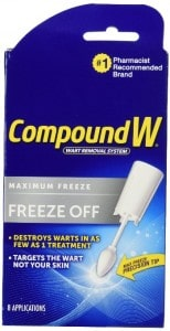 Using Compound W to Get Rid of Warts – Does it work?