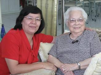 Pdt Tjhay Suk Hui dan Olce