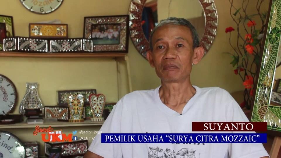 Suyanto Limbah Kaca Jadi Perabotan Ekslusif Bernilai Tinggi
