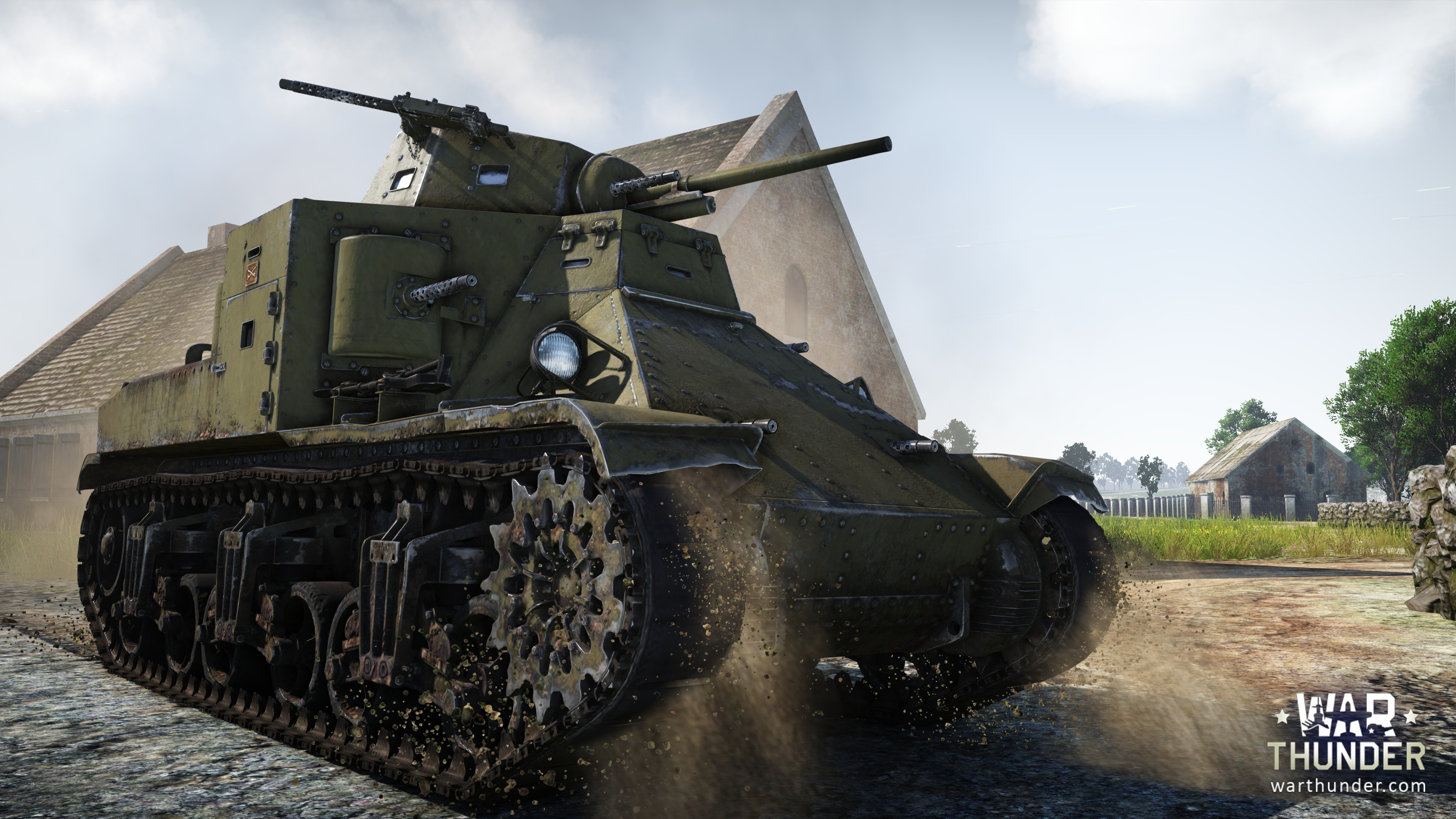 DevelopmentSteel Generals M2 Medium Tank War Thunder