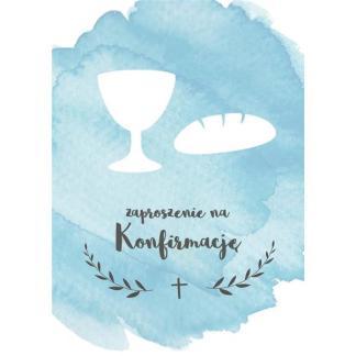 Kartka- Zaproszenie na konfirmację-5212