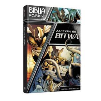 Biblia komiks - Zaczyna się bitwa. Historia stworz