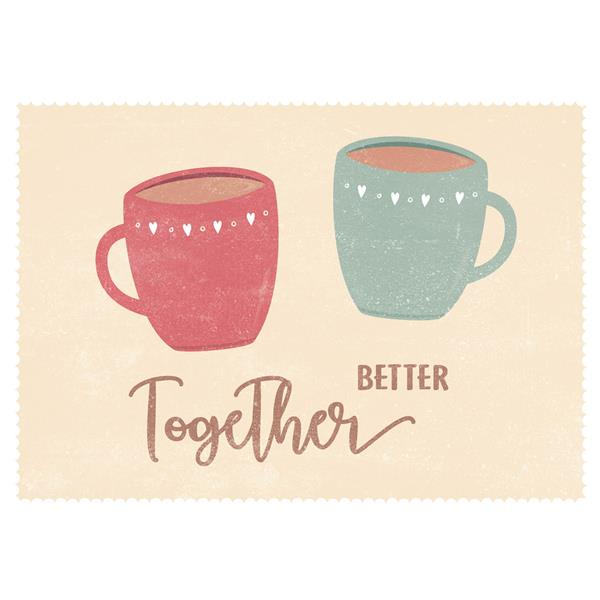 Kartka pojedyncza. Better together