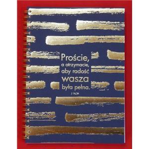 Mój dziennik - złocony - Proście