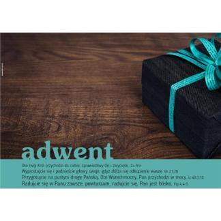 Plakat Adwent 2017 - prezent