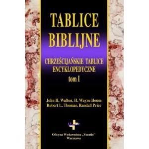 Tablice biblijne. Tom I
