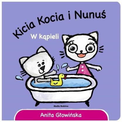 Kicia Kocia i Nunuś - w kąpieli