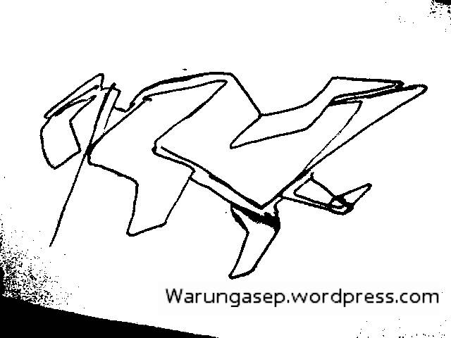Gambar Sketsa Motor Itu Cukup 48 Detik Warungasep