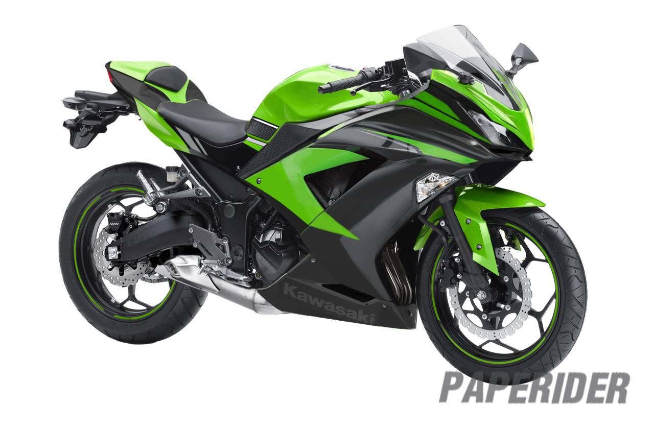 Kawasaki Ninja 250cc 4 Silinder Sesangar Inikah Wajahnya