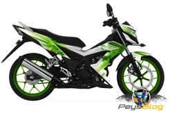 Sonic 150R Green White