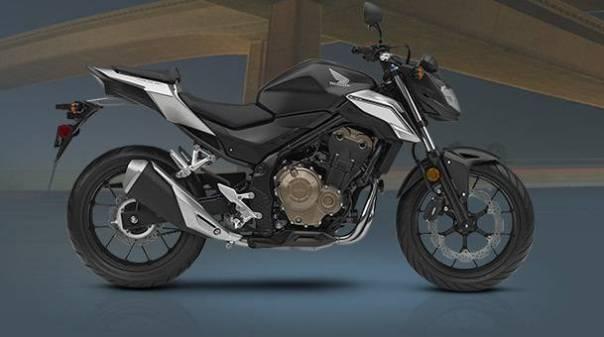 honda cb500f facelift