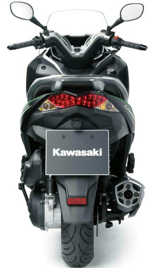 kawasaki j125 buntut