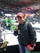 Kang Adi Purnama di TMS 2016 bersama Z125 saat launching