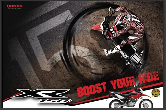 boost your ride xr150l